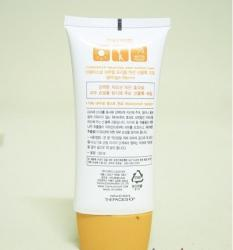 Kem Chống Nắng Natural Triple Action Sunblock Cream 50+ The face shop